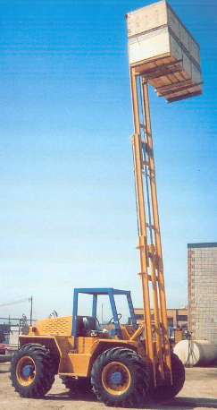 Vertical Mast Fork Lift Truck