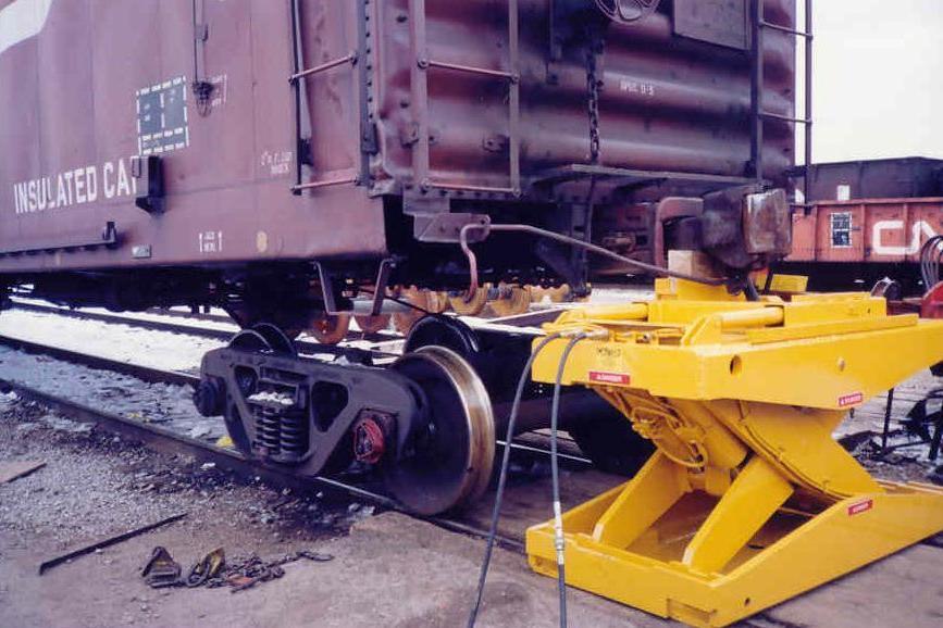 Rail Car Jack