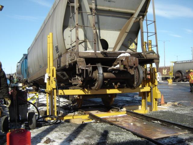 60 Ton Stationary Rail Road Jack