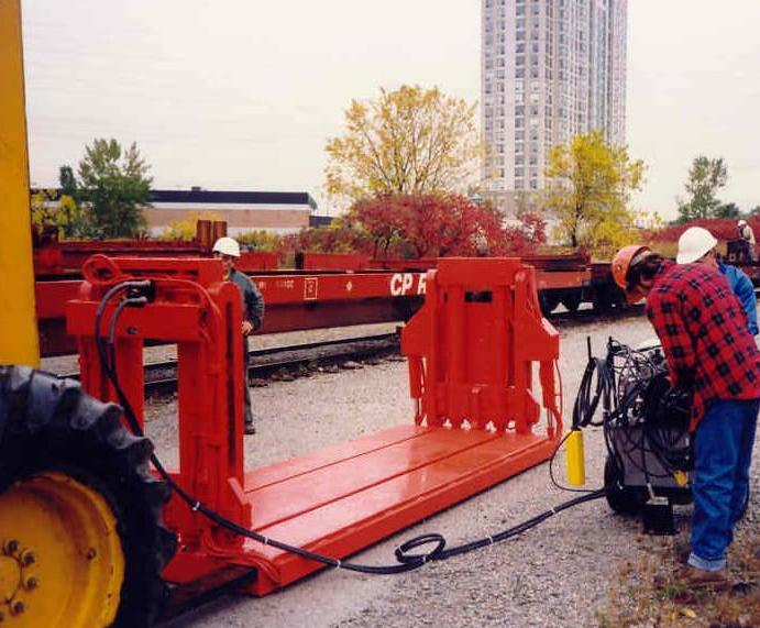 100 Ton Rail Car Jack