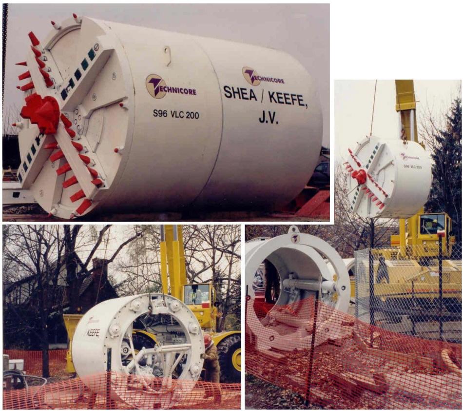 96 Inch Diameter Tunnel Boring System
