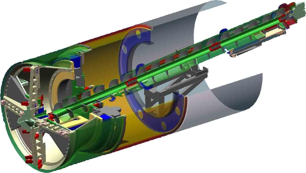 52 Inch Diameter Tunnel Boring Machine