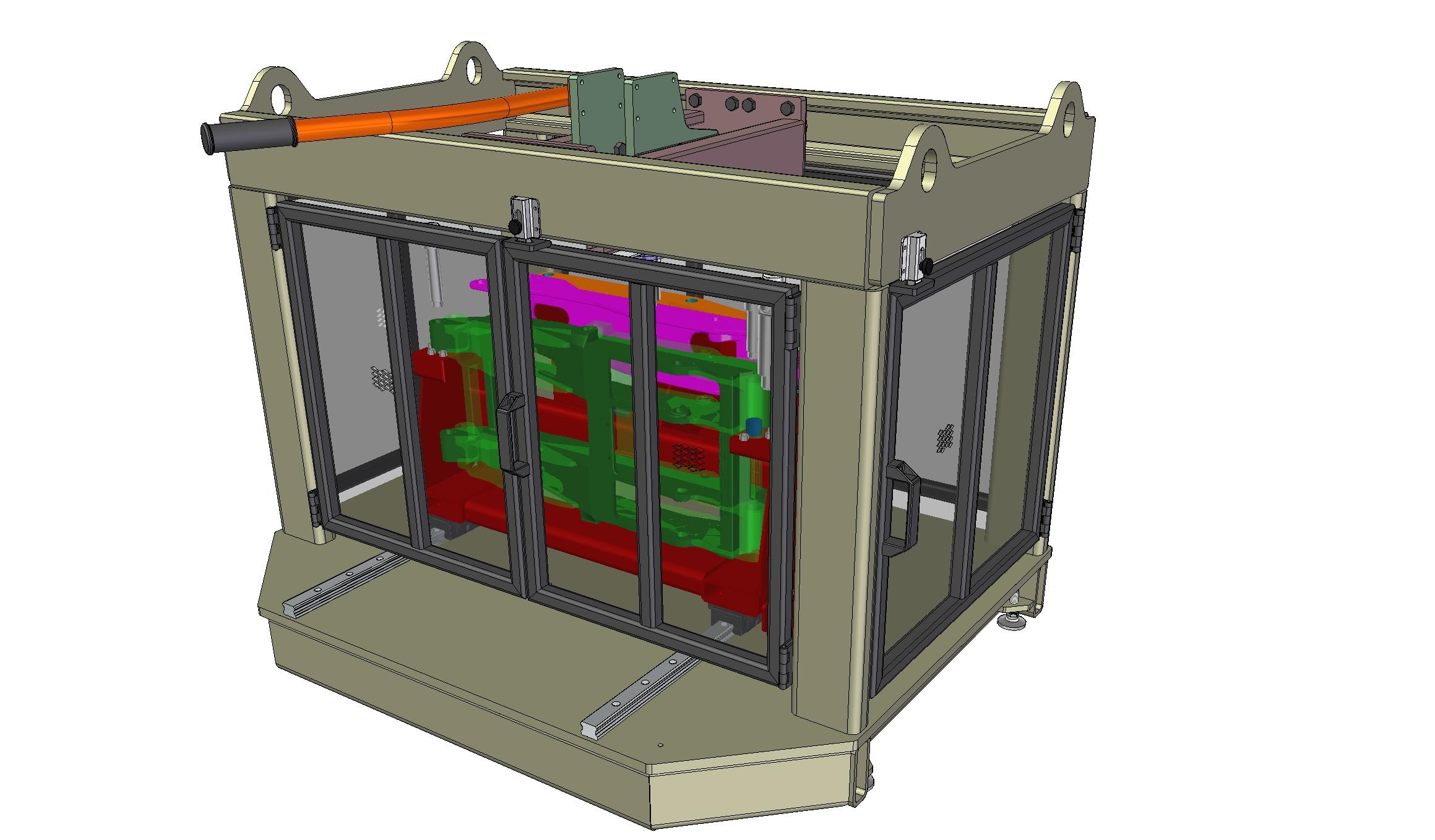 Custom Hydraulic Press Tooling System