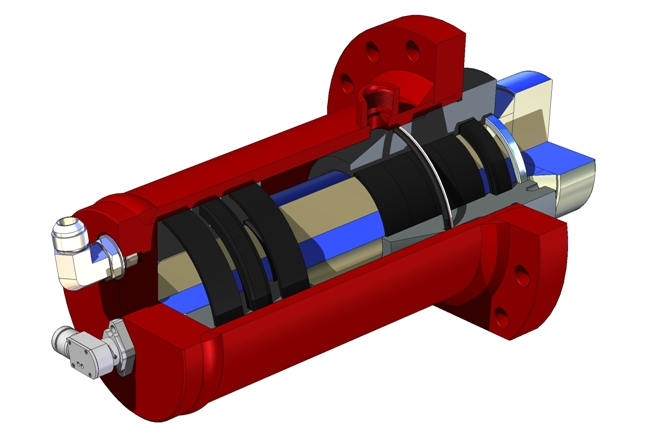 Hydraulic Cylinder Assembly Design
