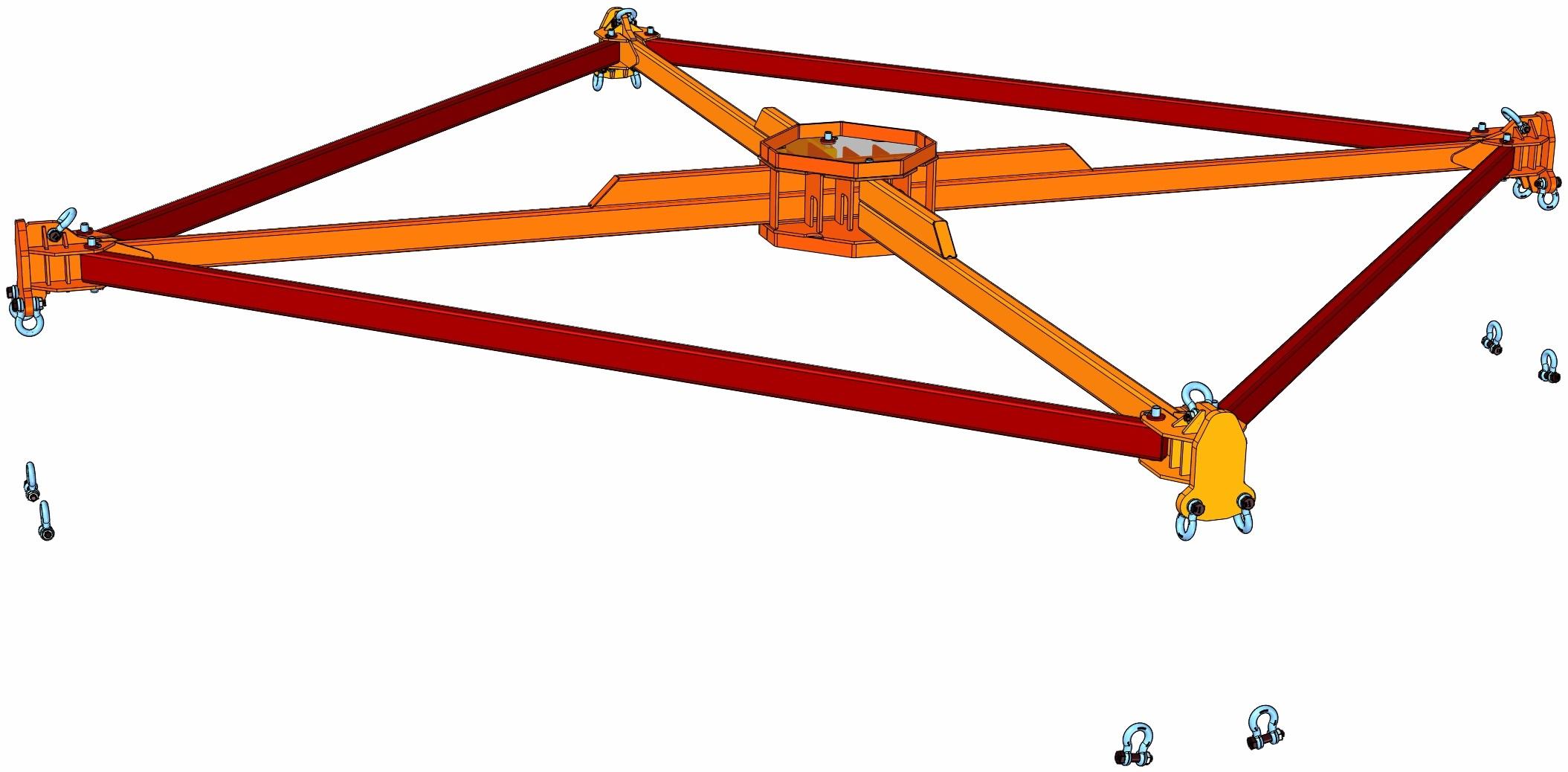Bridle For 12 M Diameter Concrete Forms