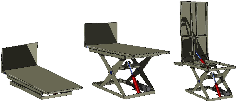 Scissor Jack with Top Tilt Platform
