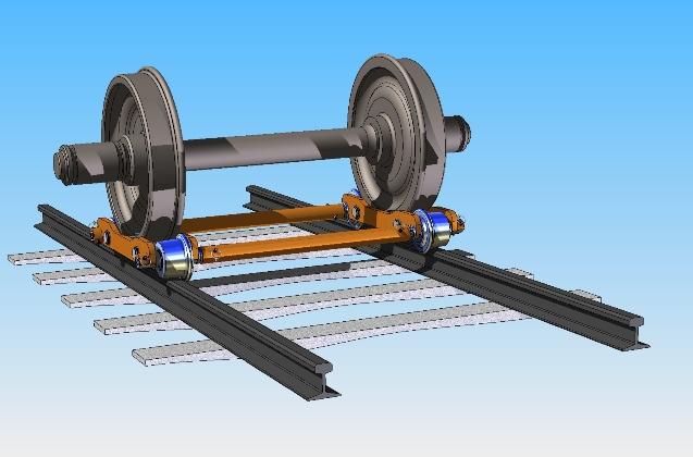 Rail Car Wheel Dolly