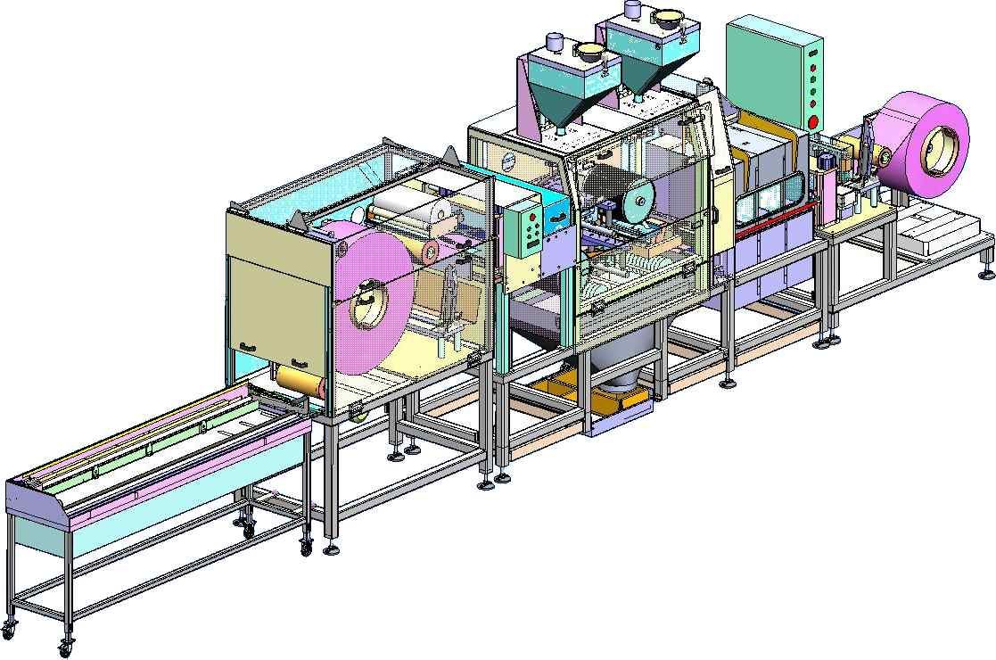 Custom Manufacturing System with Vacuum Chamber