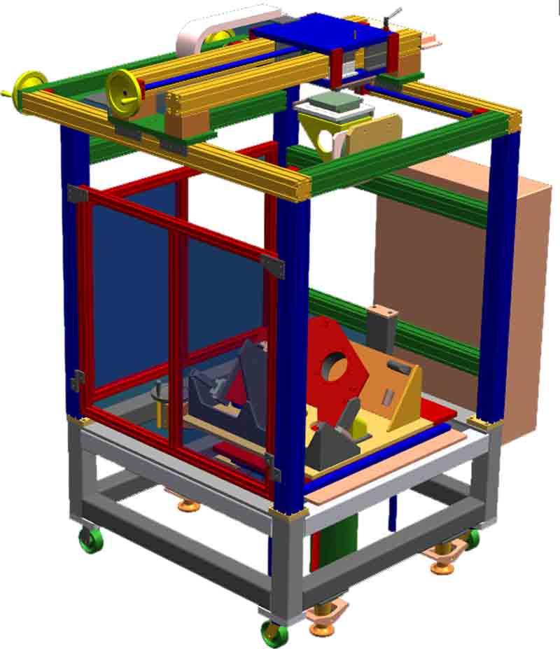Custom Machining Center for Manufacturing of Car Plastic Fuel Tanks