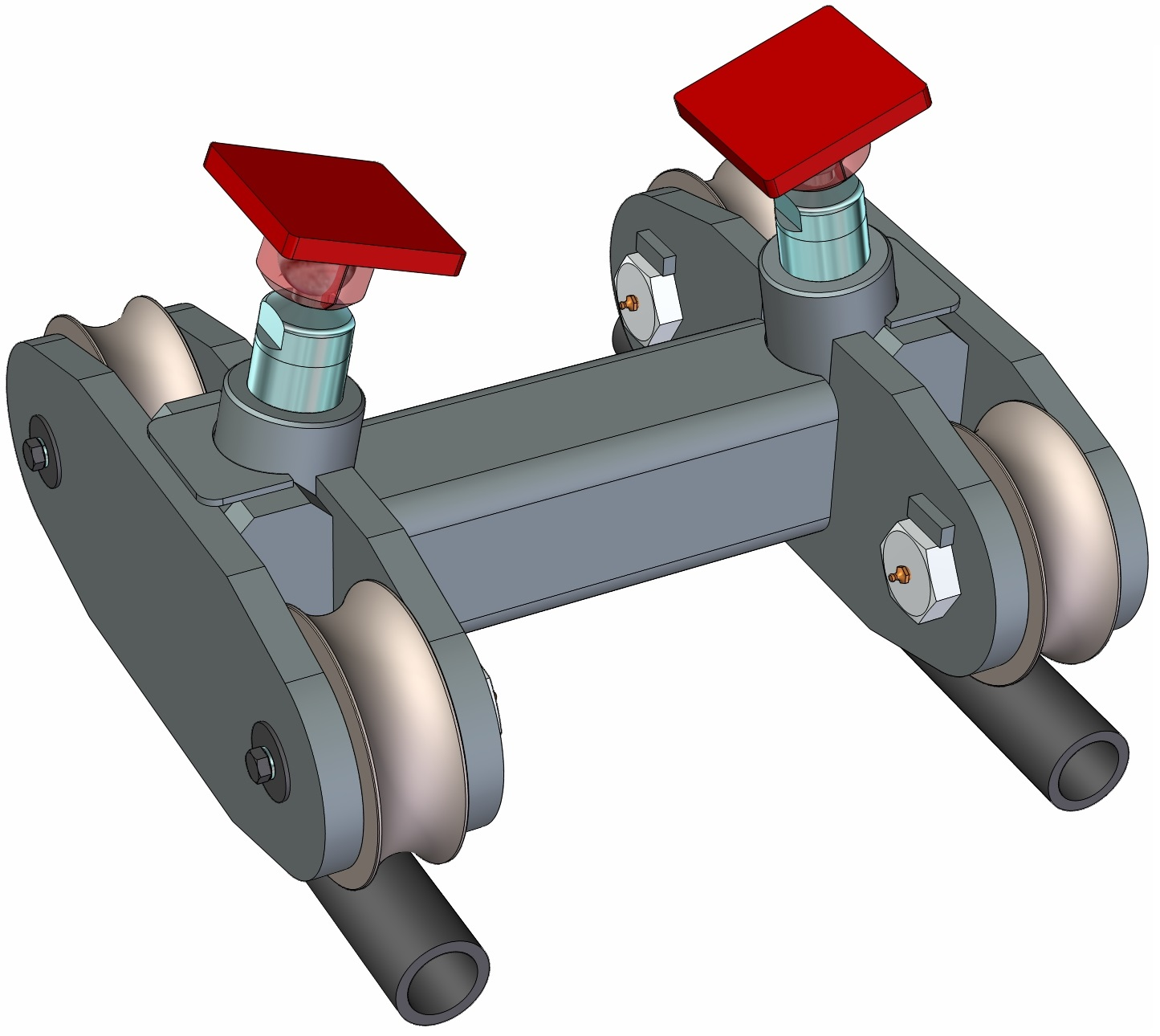 Pipe Car to Carry Underground Concrete Pipe for Microtunneling Boring Machine Jacking Unit