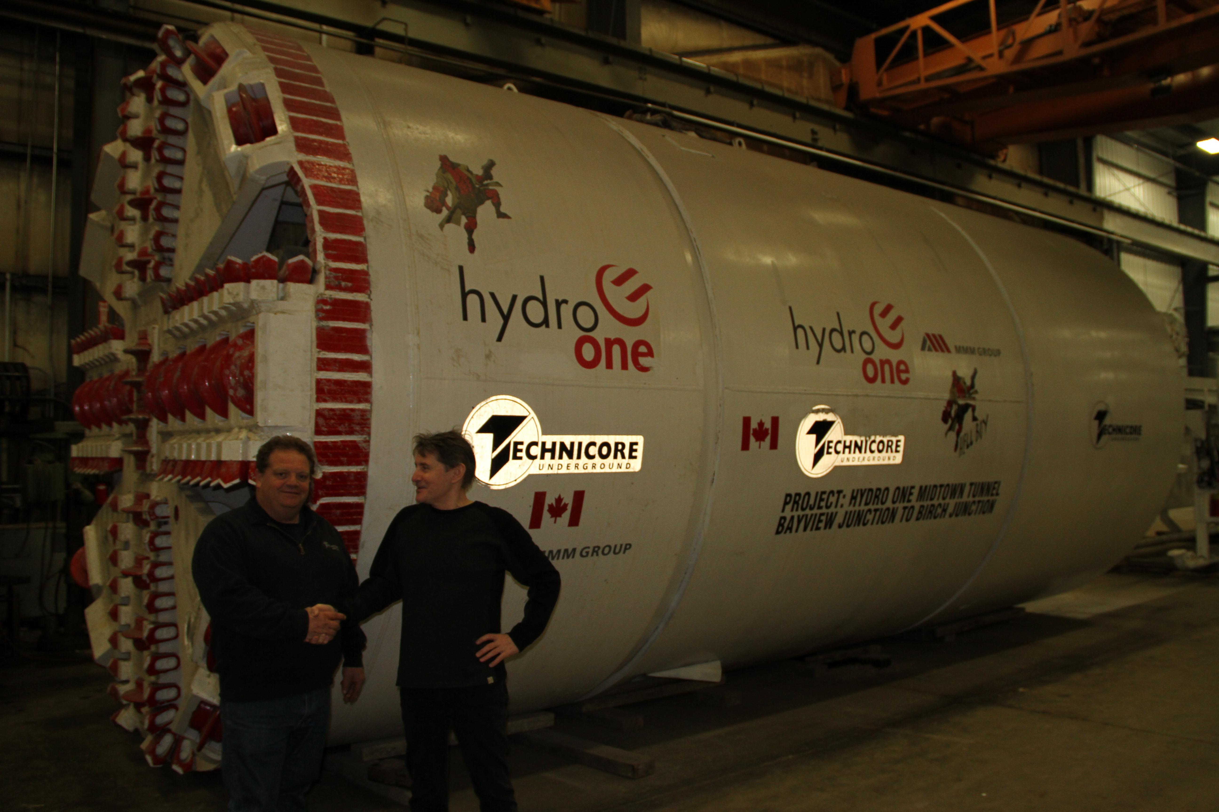 154 Inch Diameter Tunnel Boring Machine