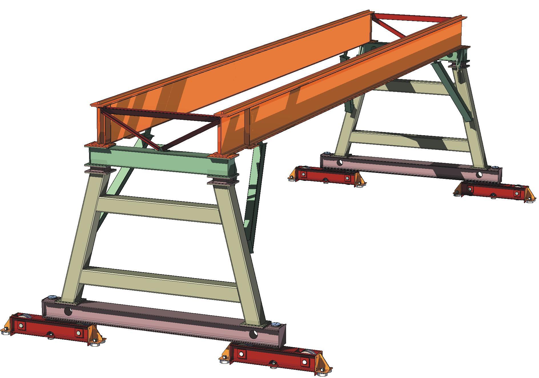 Gantry Crane for Welding Atomation