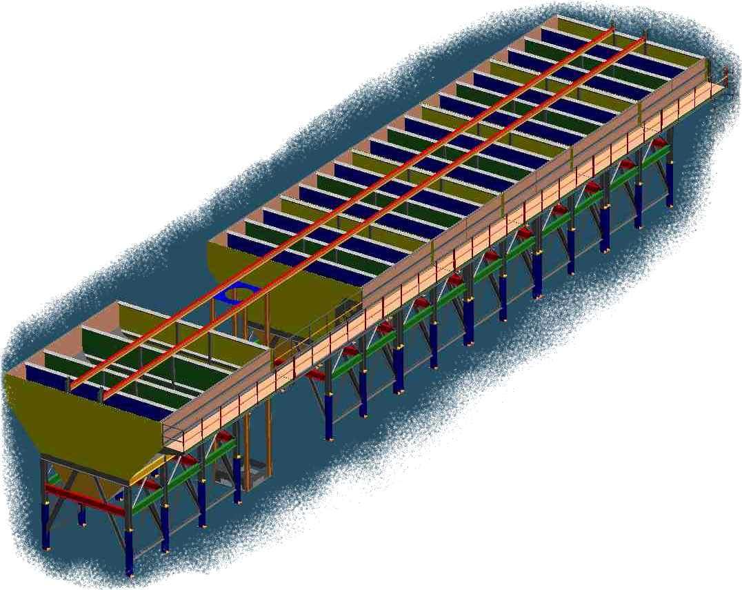 Precast Silo for Concrete Manufacturing Plant