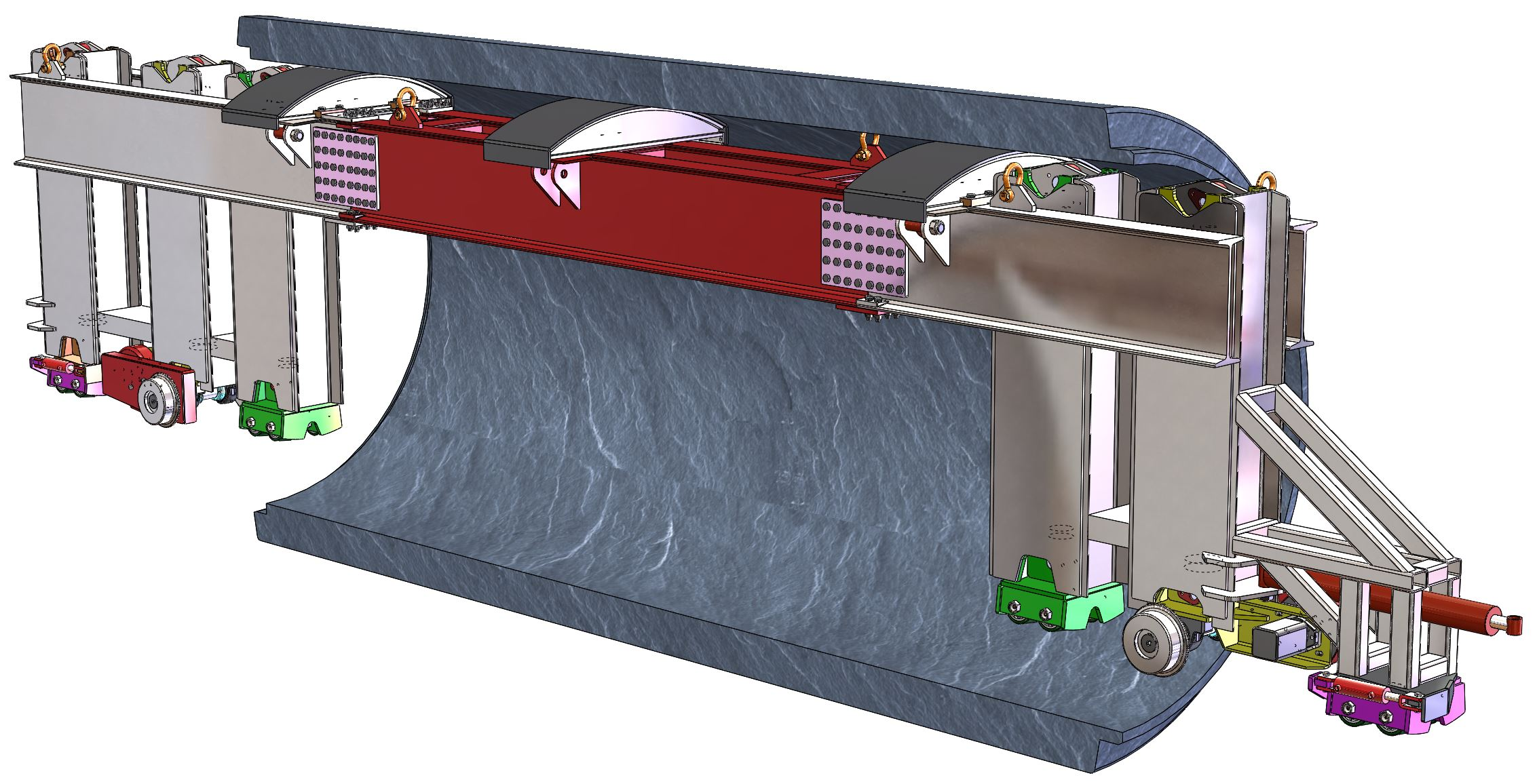 Tunnel Boring Pipe Carrier