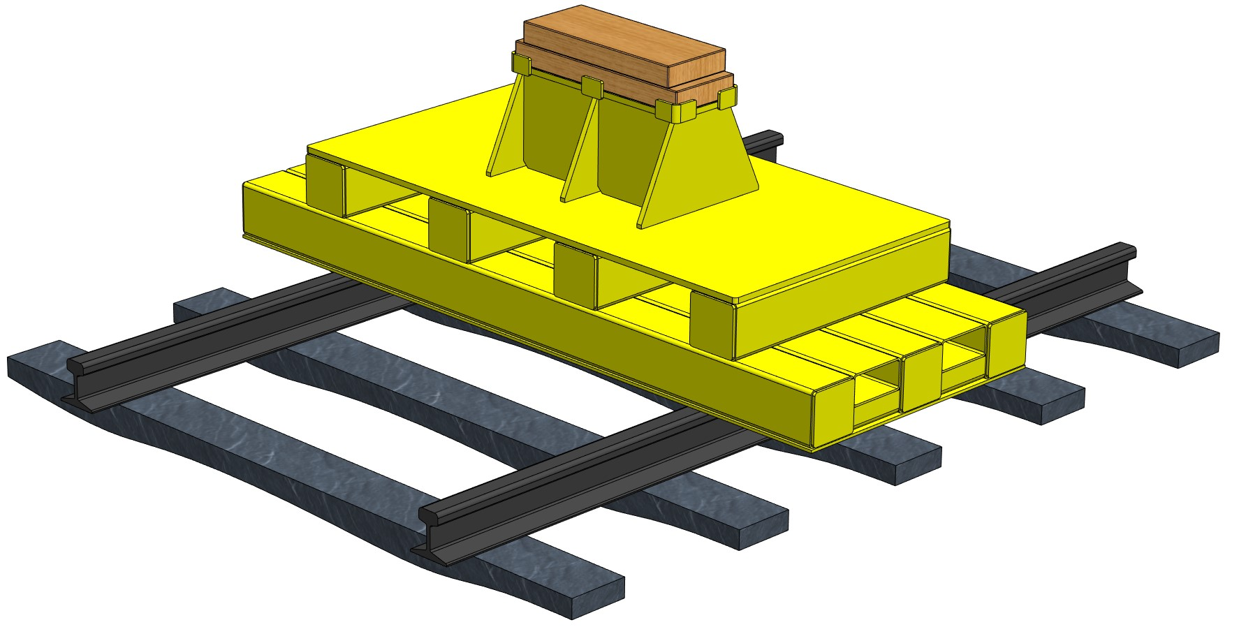 Rail Car Support Stand