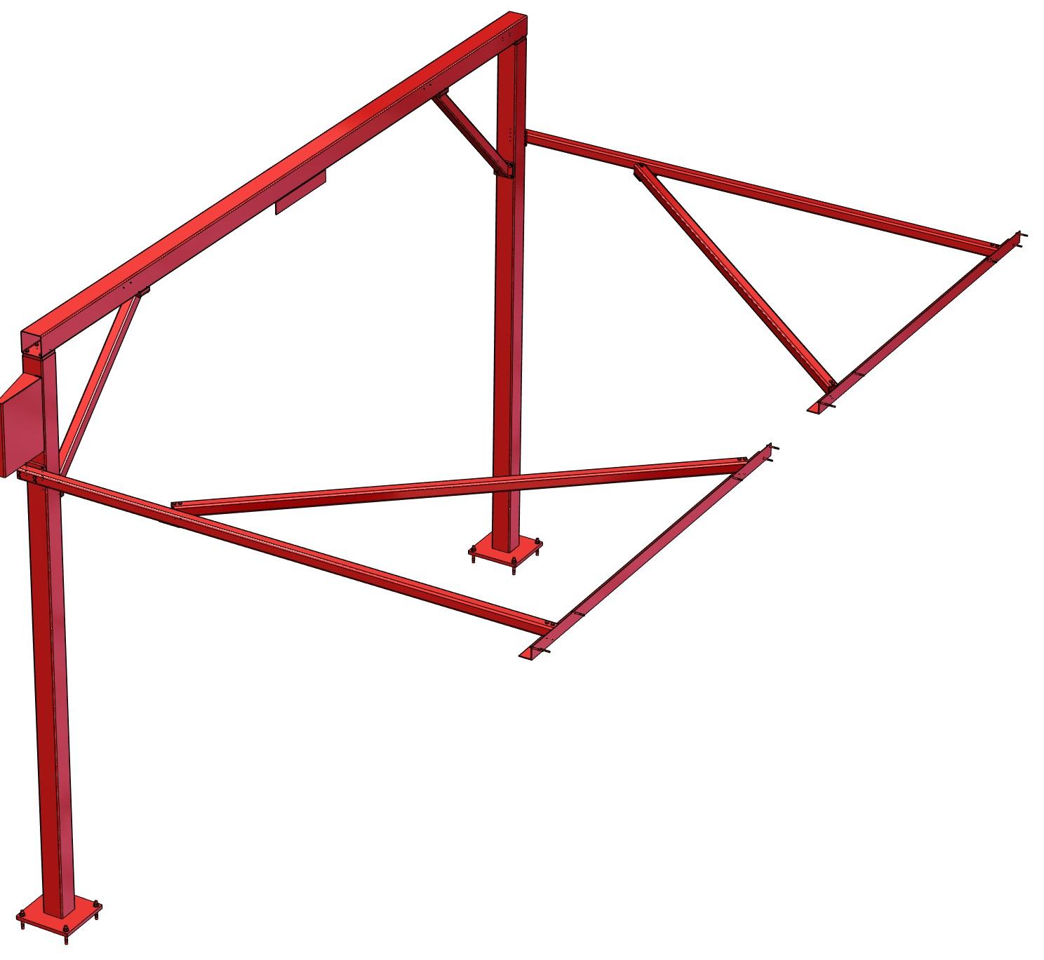 Vertical Sliding Door Support System 1